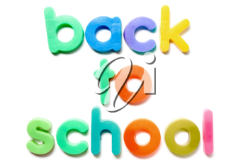 Royalty Free Photo of a Back to School Concept