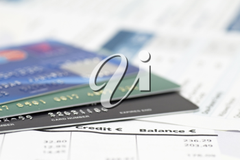 Royalty Free Photo of Credit Cards