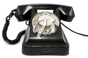 Royalty Free Photo of an Old Telephone