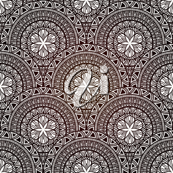 Vector Seamless Hand Drawn Doodle Pattern, fully editable eps 10 file with transparency effects